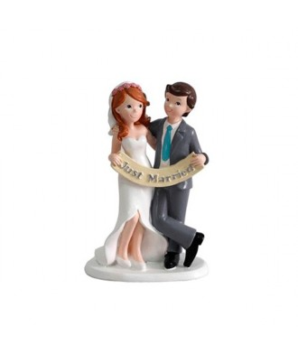 "Figura Pastel ""Just Married"""