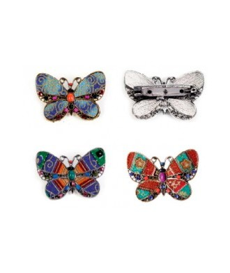 Broches Mariposa